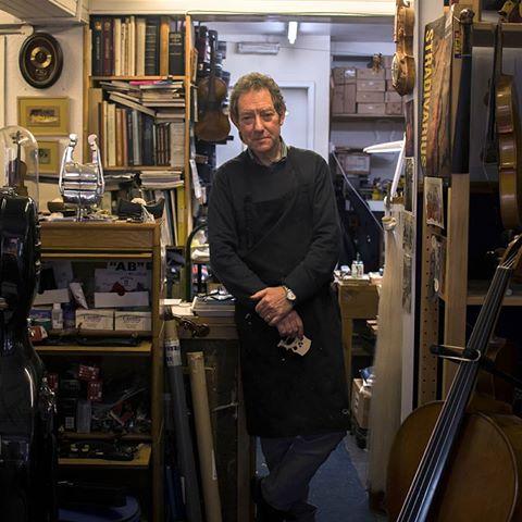 Julian Batey in his shop